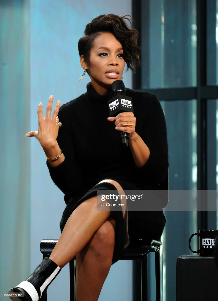 Actress Anika Noni Rose speaks during Build Series Presents Anika Noni Rose Discussing 'The Quad' at Build Studio on February 1, 2017 in New York City.