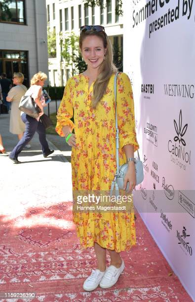 Actress Anina Haghani the Scenario SommerCocktail 2019 during the Munich Film Festival at The Charles Hotel on June 30 2019 in Munich Germany