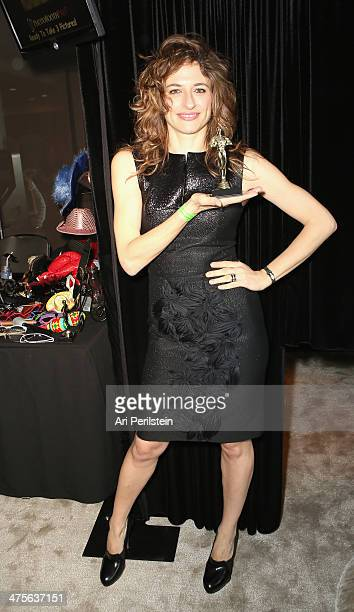 Actress Anita Kravos attends Kari Feinstein's PreAcademy Awards Style Lounge at the Andaz West Hollywood on February 28 2014 in Los Angeles California