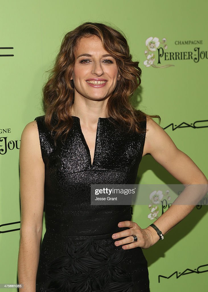 Actress Anita Kravos attends the Women In Film Pre-Oscar Cocktail Party presented by Perrier-Jouet, MAC Cosmetics & MaxMara at Fig & Olive Melrose Place on February 28, 2014 in West Hollywood, California.