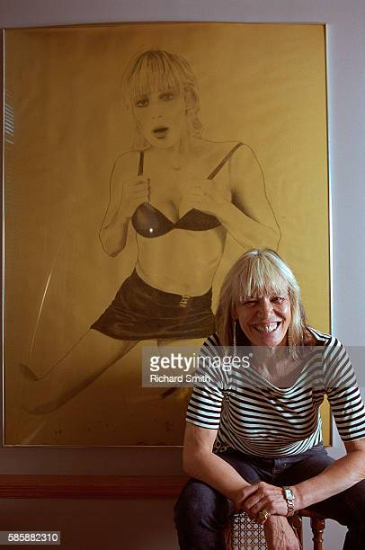 Actress Anita Pallenberg by Drawing of Marianne Faithfull