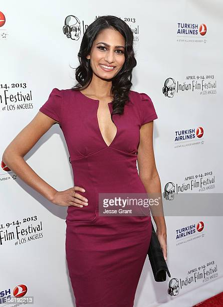 Actress Anita Vora attends the Indian Film Festival of Los Angeles Opening Night Gala for Gangs Of Wasseypur at ArcLight Cinemas on April 9 2013 in...