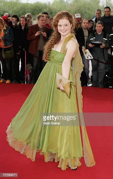 Actress Anja Antonowicz attends the German Television Awards at the Coloneum October 20, 2006 in Cologne, Germany.