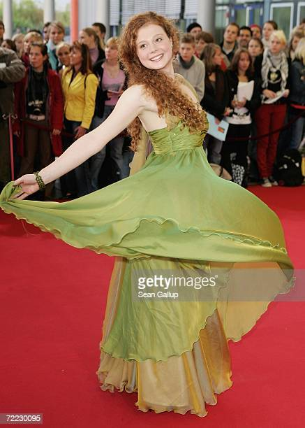 Actress Anja Antonowicz attends the German Television Awards at the Coloneum October 20 2006 in Cologne Germany