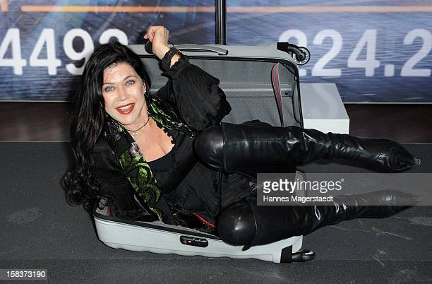 Actress Anja Kruse attends the BMW Adventskalender opening at the BMW Pavillon on December 14 2012 in Munich Germany