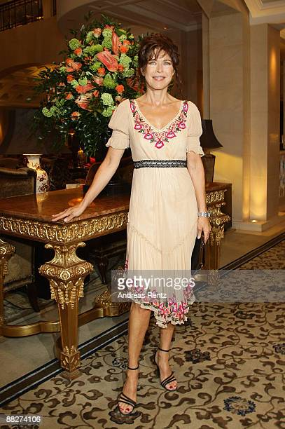 Actress Anja Kruse attends the BMW golf cup International gala at the Adlon Hotel on June 6 2009 in Berlin Germany