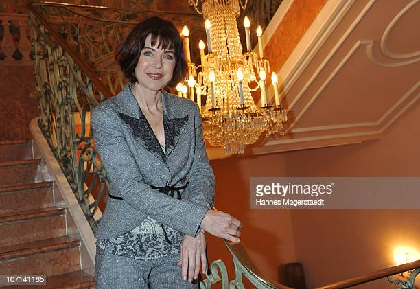 Actress Anja Kruse attends the Christina Duxa Couture Ladies Lunch at Hotel Bayerischer Hof on November 25 2010 in Munich Germany