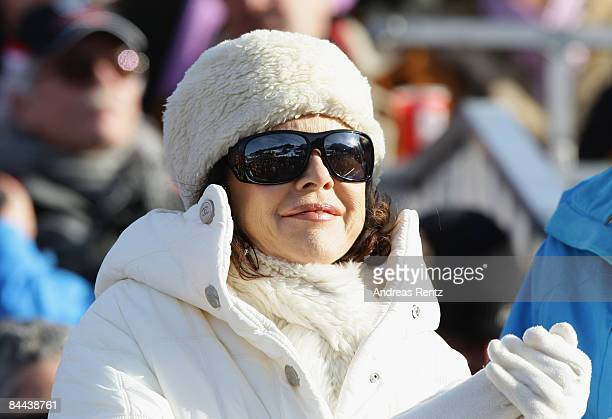 Actress Anja Kruse attends the Hahnenkamm Race weekend on January 24 2009 in Kitzbuehel Austria