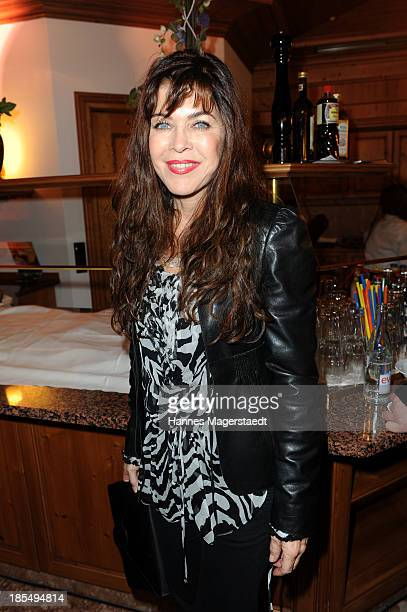 Actress Anja Kruse attends the presentation of Manfred Baumann New Calendar 2014 at the King's Hotel Center on October 21 2013 in Munich Germany