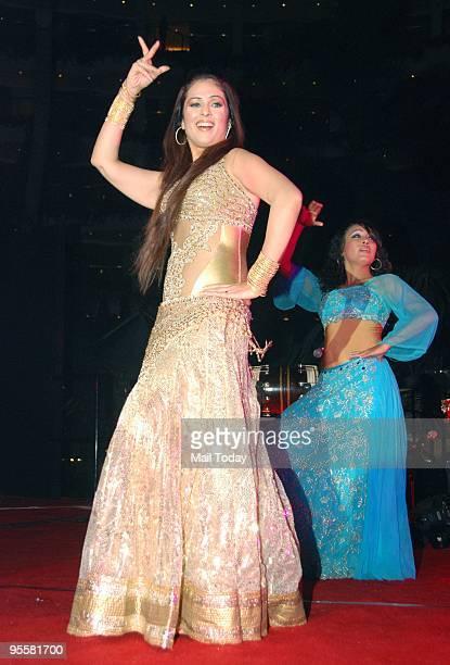 Actress Anjana Sukhani performs at a New Years bash in Mumbai on Thursday December 31 2009