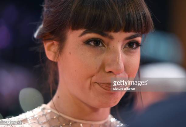 Actress Anjela Nedyalkova arrives for the premiere of the movie 'T2 Trainspotting' at the 67th International Berlin Film Festival in Berlin Germany...