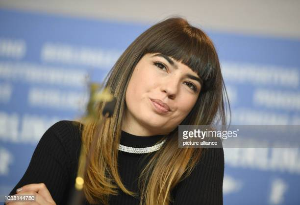 Actress Anjela Nedyalkova at the 67th International Berlin Film Festival for the premiere of the nominated British film 'T2 Trainspotting' in Berlin...