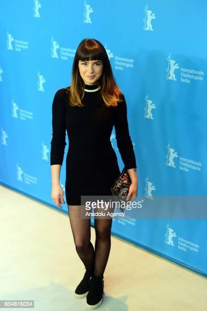 Actress Anjela Nedyalkova attends photo call during the 67th Berlinale International Film Festival at Grand Hyatt Hotel in Berlin Germany on February...