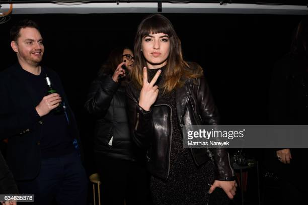 Actress Anjela Nedyalkova attends the 'T2 Trainspotting' after party during the 67th Berlinale International Film Festival Berlin at Prince Charles...