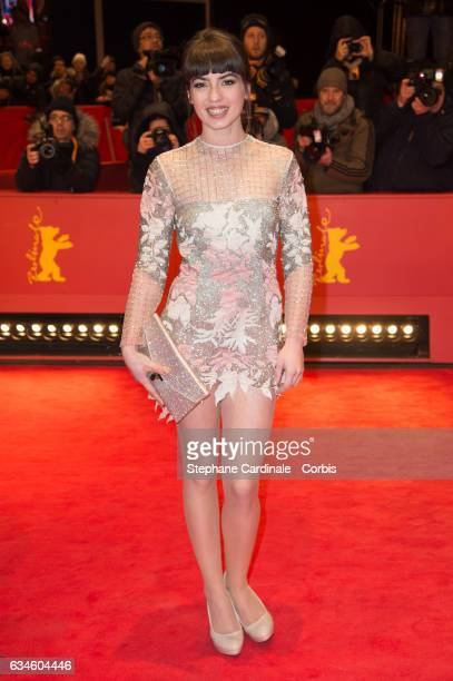 Actress Anjela Nedyalkova attends the 'T2 Trainspotting' premiere during the 67th Berlinale International Film Festival Berlin at Berlinale Palace on...