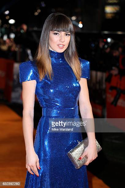 Actress Anjela Nedyalkova attends the 'T2 Trainspotting' world premiere on January 22 2017 in Edinburgh United Kingdom