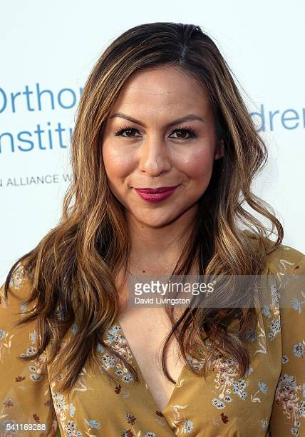 Actress Anjelah Johnson attends the 2016 Stand for Kids Annual Gala benefiting the Orthopedic Institute for Children at the Twentieth Century Fox...