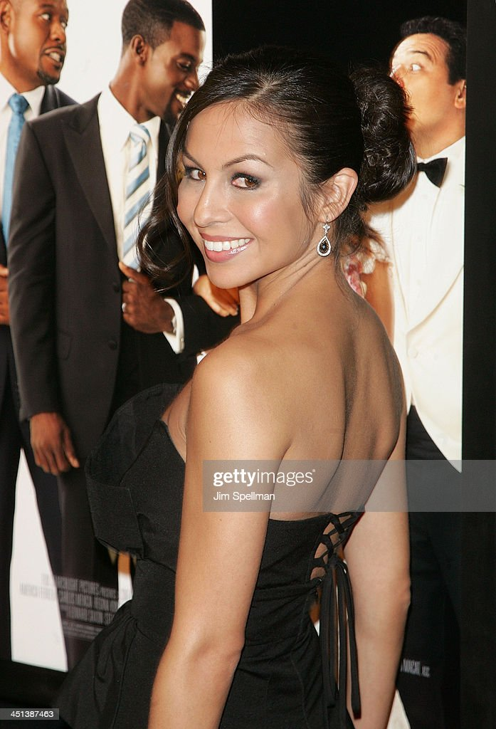 Our Family Wedding.Actress Anjelah Johnson Attends The Premiere Of Our Family Wedding