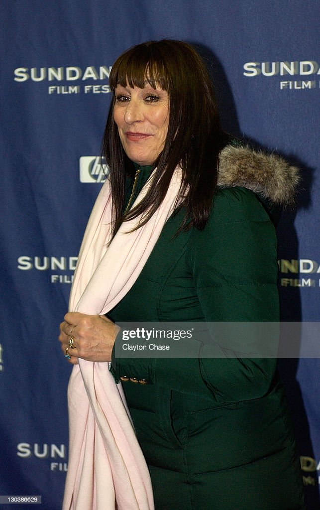Actress Anjelica Huston attends a screening of 'Choke' at the Racquet Club Theatre during 2008 Sundance Film Festival on January 21, 2008 in Park City, Utah.