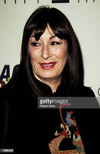Actress Anjelica Huston attends the 10th Annual Race to Erase MS at the Century Plaza Hotel on May 9 2003 in Century City California
