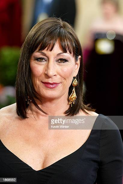 Actress Anjelica Huston attends the 75th Annual Academy Awards at the Kodak Theater on March 23 2003 in Hollywood California