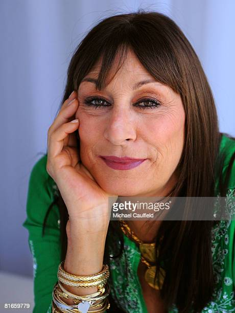 Actress Anjelica Huston of Choke poses for a portrait during the 2008 CineVegas film festival held at the Palms Casino Resort on June 21 2008 in Las...