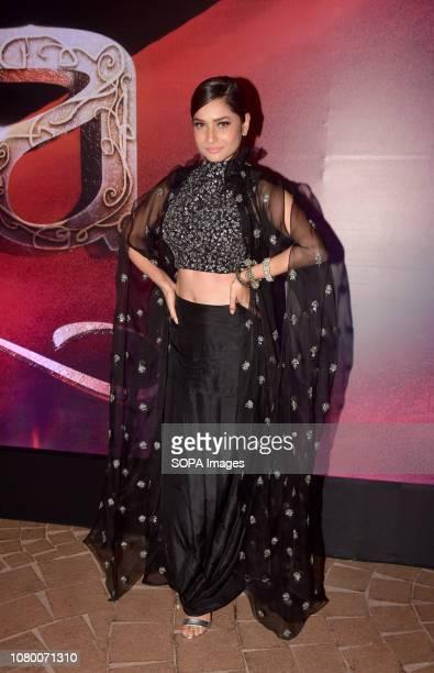 Actress Ankita Lokhande seen during the music launch event of film 'Manikarnika' in Mumbai