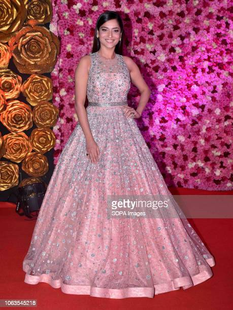 Actress Ankita Lokhande seen on the red carpet during the LUX GOLDEN ROSE Awards 2018 at the NCSI Dome Worli in Mumbai