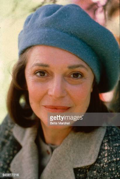 Actress Ann Bancroft is photographed in 1987 in Central Park in New York City