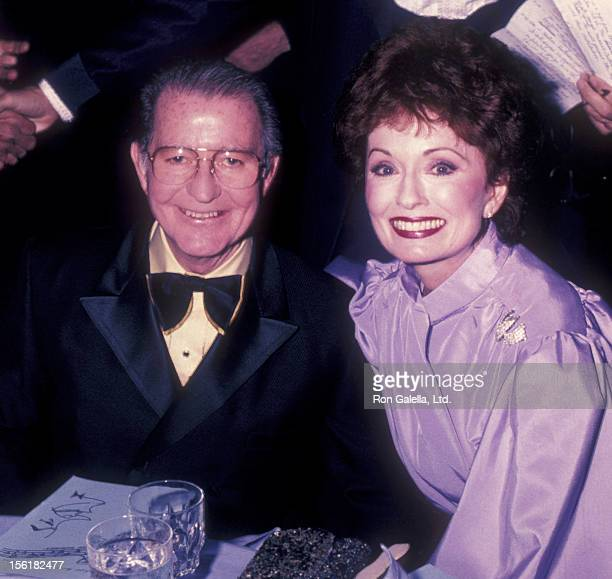 Actress Ann Blyth and actor Joe Campanella attend on March 18 1983 at the Sheraton Center in Los Angeles California