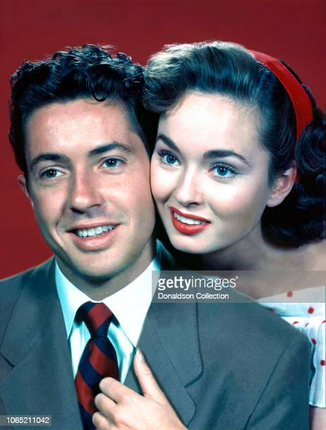 Actress Ann Blyth and Farley Granger in a scene from the movie 'Our Very Own'