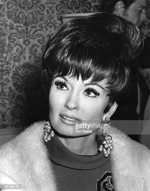 Actress Ann Blyth attends John Davidson Opening on January 18 1970 at the Las Vegas Hotel in Las Vegas Nevada
