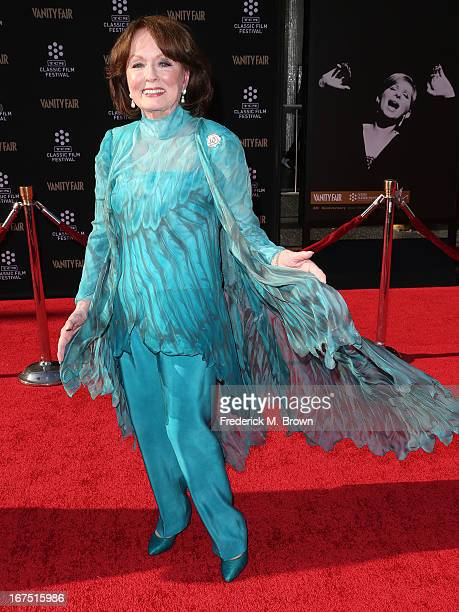 Actress Ann Blyth attends the 2013 TCM Classic Film Festival Opening Night Gala screening of Funny Girl at the TCL Chinese Theatre on April 25 2013...
