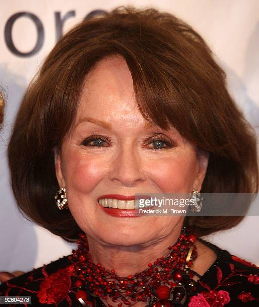 Actress Ann Blyth attends the 54th annual Thalians Ball at the Beverly Hilton Hotel on November 1 2009 in Beverly Hills California