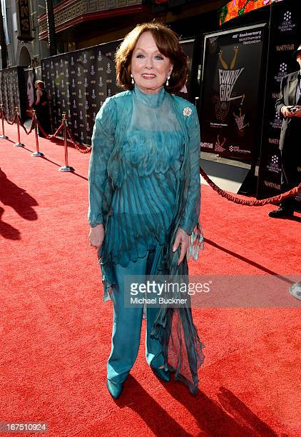 Actress Ann Blyth attends the Funny Girl screening during the 2013 TCM Classic Film Festival Opening Night at TCL Chinese Theatre on April 25 2013 in...