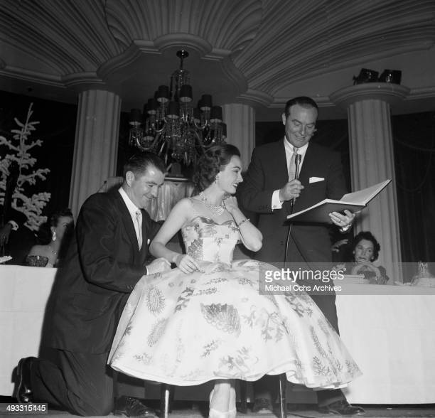 Actress Ann Blyth attends the Mothers of Year dinner in Los Angeles California