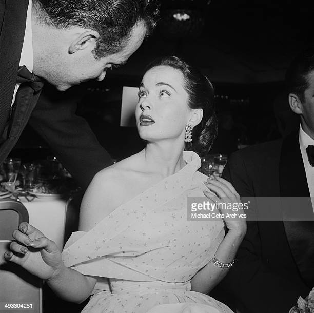 Actress Ann Blyth attends the Photoplay Awards in Los Angeles California