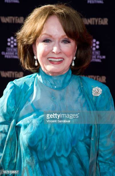 Actress Ann Blyth attends the TCM Classic Film Festival Opening night gala and world premiere of the 45th anniversary restoration of Funny Girl at...
