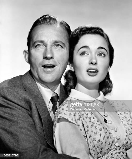 Actress Ann Blyth Bing Crosby in a scene from the movie 'Top o' the Morning'