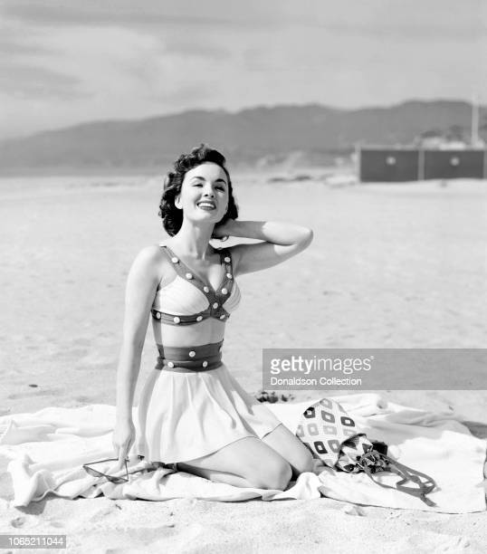 Actress Ann Blyth in a scene from the movie 'Our Very Own'