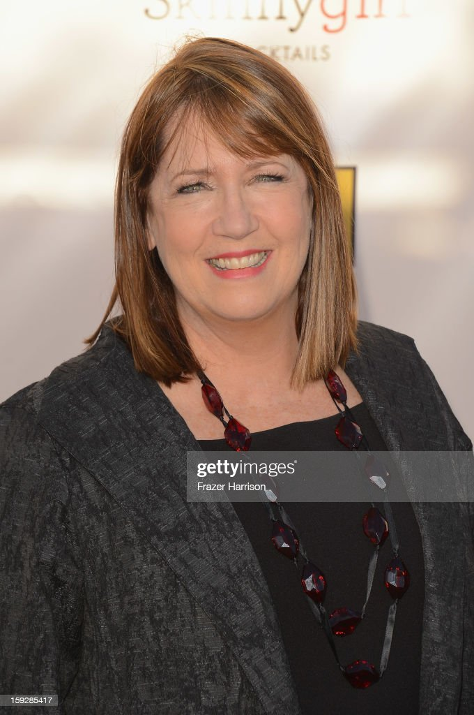 Actress Ann Dowd arrives at the 18th Annual Critics' Choice Movie Awards at Barker Hangar on January 10, 2013 in Santa Monica, California.