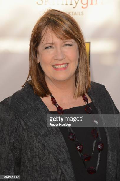 Actress Ann Dowd arrives at the 18th Annual Critics' Choice Movie Awards at Barker Hangar on January 10 2013 in Santa Monica California
