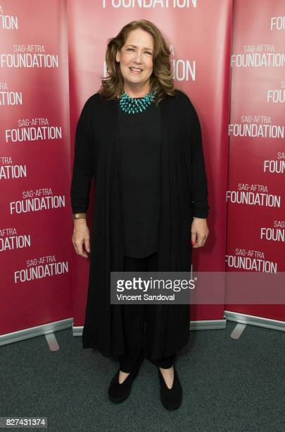 Actress Ann Dowd attends SAGAFTRA Foundation Conversations with Ann Dowd at SAGAFTRA Foundation Screening Room on August 7 2017 in Los Angeles...