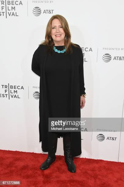Actress Ann Dowd attends 'The Handmaid's Tale' Premiere at BMCC Tribeca PAC on April 21 2017 in New York City
