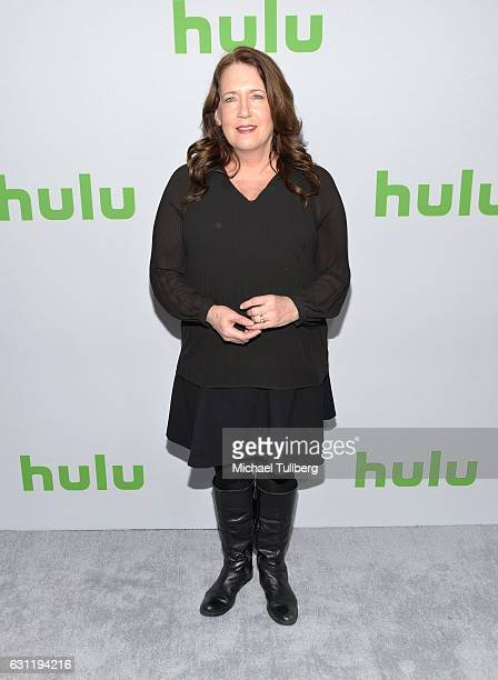 Actress Ann Dowd attends the Hulu TCA Winter Press Tour Day at Langham Hotel on January 7, 2017 in Pasadena, California.