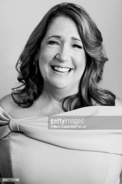 Actress Ann Dowd from Hulu's 'The Handmaid's Tale' poses for a portrait BBC America BAFTA Los Angeles TV Tea Party 2017 at the The Beverly Hilton...