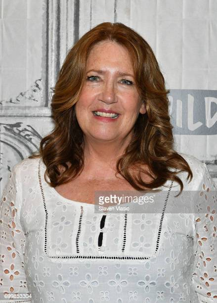 """Actress Ann Dowd visit Build to discuss """"The Handmaid's Tale"""" & """"The Leftovers"""" at Build Studio on June 22, 2017 in New York City."""