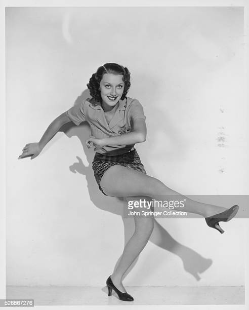 Actress Ann Dvorak dancing in the 1935 motion picture Sweet Music