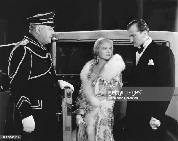 Actress Ann Harding and John Loder in a scene from the movie 'Her Private Affair'