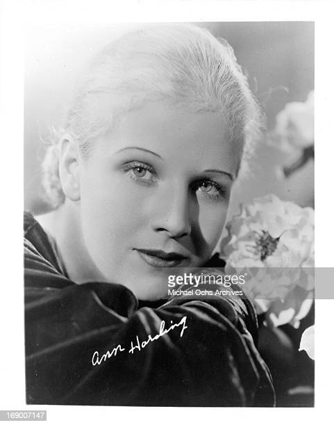 Actress Ann Harding poses for a portrait in circa 1935